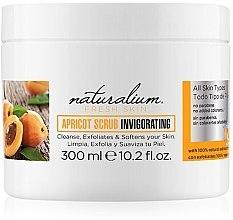 Düfte, Parfümerie und Kosmetik Erfrischendes Körperpeeling mit Aprikosenextrakt - Naturalium Fresh Skin Apricot