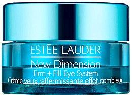 Düfte, Parfümerie und Kosmetik Festigende und pflegende Augenkonturcreme - Estee Lauder New Dimension Firm + Fill Eye System