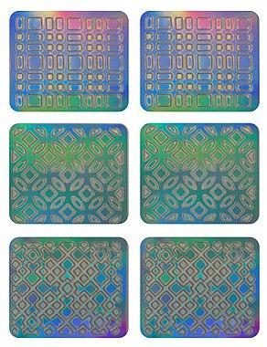 Nagelsticker 3708 - Neess Patternness — Bild N1