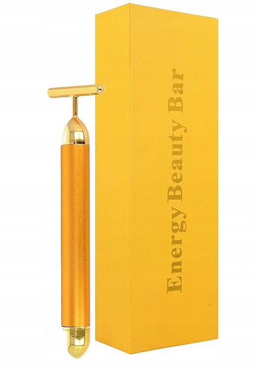Pulsierendes Gesichtsmassagegerät - Deni Carte Gold Roller — Bild N1