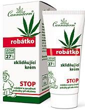 Düfte, Parfümerie und Kosmetik Beruhigende Babycreme für empfindliche, ekzematöse und atopische Haut - Cannaderm Robatko