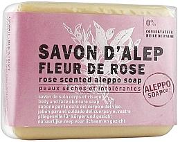Düfte, Parfümerie und Kosmetik Aleppo-Seife mit Rosenduft für Gesicht und Körper - Tade Aleppo Rose Flower Scented Soap
