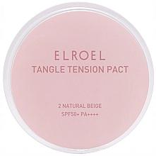 Düfte, Parfümerie und Kosmetik Mattierender Gesichttspuder für fettige Haut SPF 50+ - Elroel Tangle Tension Pact SPF 50+/PA ++++
