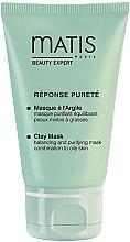 Düfte, Parfümerie und Kosmetik Reinigende Tonmaske für das Gesicht - Matis Reponse Purete Clay Mask Balancing and Purifying Mask