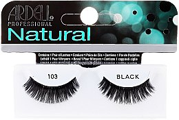 Düfte, Parfümerie und Kosmetik Künstliche Wimpern - Ardell Natural Demi Black 103