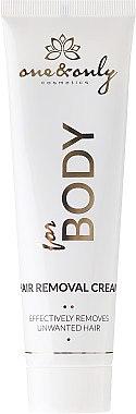 Enthaarungscreme für Hände, Achseln und Bikinizone mit Aloe Vera für empfindliche Haut - One&Only Cosmetics For Body For Women Ultra Sensitive Instant Hair Removal Cream — Bild N2