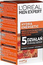 Düfte, Parfümerie und Kosmetik Feuchtigkeitsspendende Gesichts- und Halslotion für Männer - L'Oreal Paris Men Expert Hydra Energetic Daily Anti-Fatigue Moisturising