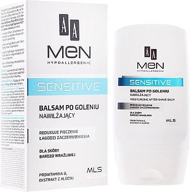 After Shave Balsam - AA Men Sensitive Moisturizing After-Shave Balm — Bild N1