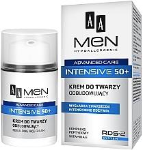 Düfte, Parfümerie und Kosmetik Regenerierende Gesichtscreme - AA Men Advanced Care Intensive 50+ Face Cream Rebuilding