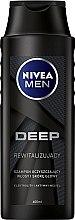 Düfte, Parfümerie und Kosmetik Revitalisierendes Shampoo für Männer mit Elektrolyten und Aktivkohle - Nivea Men Deep Revitalizing Shampoo