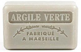 Düfte, Parfümerie und Kosmetik Handgemachte Naturseife Argile Verte - Foufour Savonnette Marseillaise Argile Verte