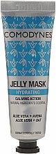 Düfte, Parfümerie und Kosmetik Feuchtigkeitsspendende Gesichtsmaske mit Aloe Vera und Hafer - Comodynes Jelly Mask Hydrating Action