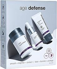 Düfte, Parfümerie und Kosmetik Gesichtspflegeset - Dermalogica Age Defense Kit (Superfoliant für das Gesicht 13ml + Serum mit Vitamin C 10ml + Gesichtscreme 12ml)