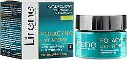 Düfte, Parfümerie und Kosmetik Feuchtigkeitsspendende und glättende Nachtcreme 40+ - Lirene Folacyna Lift Intense Cream 40+