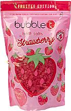 Düfte, Parfümerie und Kosmetik Badesalz mit Erdbeere - Bubble T Cosmetics Strawberry Bath Salt