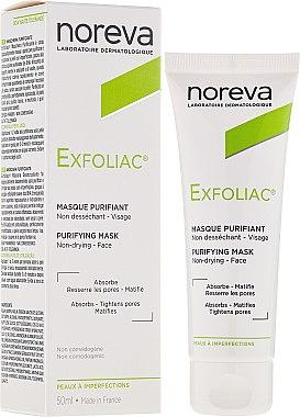 Gesichtsreinigungsmaske - Noreva Laboratoires Exfoliac Deep Cleansing Mask — Bild N1