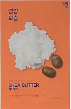 Düfte, Parfümerie und Kosmetik Pflegende Tuchmaske mit Sheabutter - Holika Holika Pure Essence Mask Sheet Shea Butter