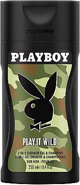 Playboy Play It Wild for Him - Duschgel — Bild N2