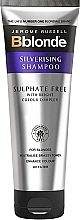 Düfte, Parfümerie und Kosmetik Sulfatfreies Silber-Shampoo für blondes Haar - Jerome Russell Bblonde Silverising Sulphate Free Brightening Shampoo