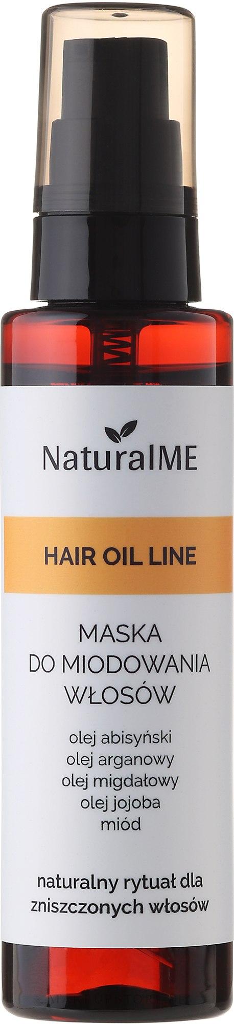 Haarmaske mit Honig in Sprayform - NaturalME Hair Oil Line — Bild 75 ml