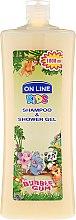 "Düfte, Parfümerie und Kosmetik On Line Kids Shampoo & Body Wash Bubble Gum - Shampoo & Duschgel für Kinder ""Kaugummi"""
