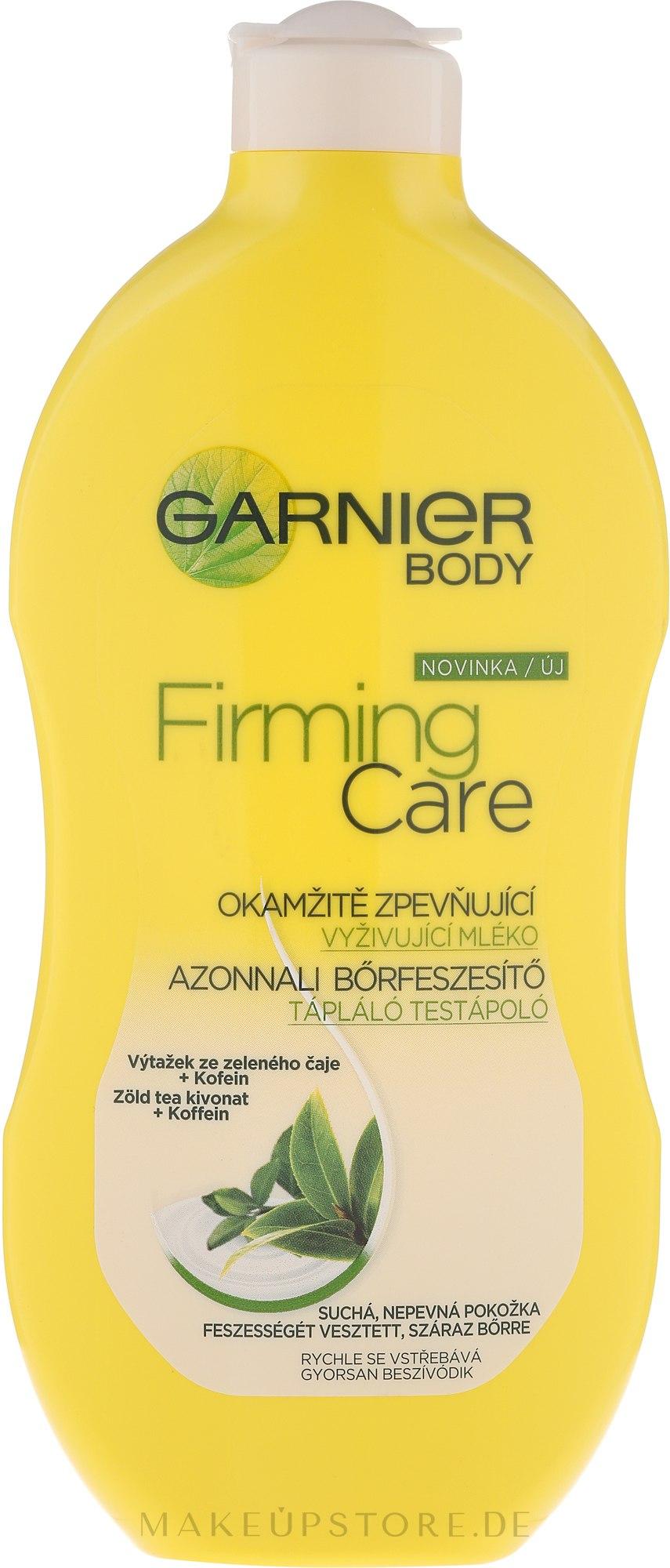 Straffende und pflegende Körperlotion mit grünem Tee - Garnier Body Firming Care Lotion — Bild 400 ml