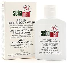 Düfte, Parfümerie und Kosmetik Flüssige Reinigungsemulsion für Körper und Gesicht - Sebamed Liquid Face & Body Wash