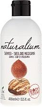 Düfte, Parfümerie und Kosmetik Feuchtigkeitsspendendes Shampoo mit Sheabutter und Macadamia - Naturalium Shea & Macadamia Shampoo