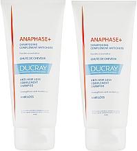 Düfte, Parfümerie und Kosmetik Haarpflegeset - Ducray Anaphase+ (Shampoo gegen Haarausfall 2x200ml)