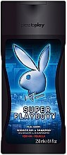 Düfte, Parfümerie und Kosmetik Playboy Super Playboy For Him - Duschgel