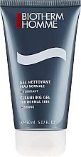 Düfte, Parfümerie und Kosmetik Klärendes seifenfreies Gesichtsgel - Biotherm Homme Gel Nettoyant