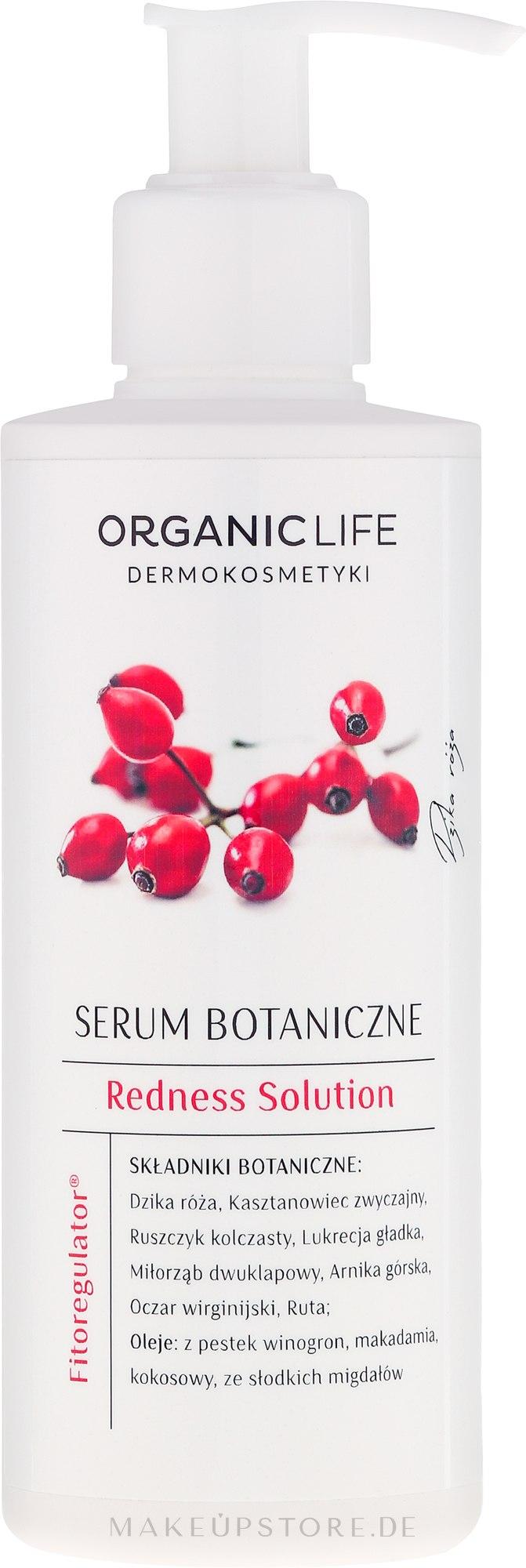 Botanisches Körperserum für Kapillarhaut - Organic Life Dermocosmetics Redness Solution — Bild 200 ml