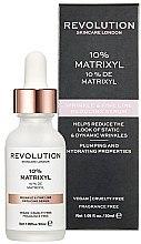 Düfte, Parfümerie und Kosmetik Serum zur Reduktion von Falten und kleinen Linien - Makeup Revolution Skincare Wrinkle and Fine Line Reducing Serum 10% Matrixyl