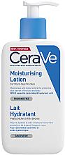Düfte, Parfümerie und Kosmetik Feuchtigkeitsspendende Gesichts- und Körperlotion für trockene bis sehr trockene Haut - CeraVe Moisturising Lotion