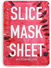 Düfte, Parfümerie und Kosmetik Feuchtigkeitsspendende Gesichtsmaske mit Wassermelone - Kocostar Slice Mask Sheet Watermelon