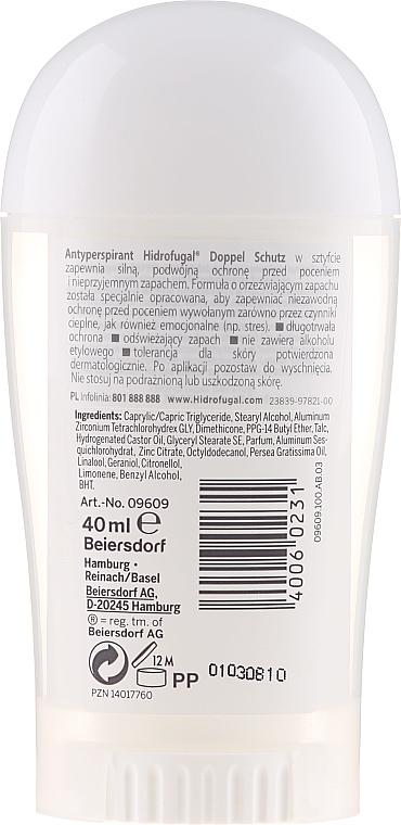 Deostick Antitranspirant Doppelschutz - Hidrofugal Double Protection Stick — Bild N2