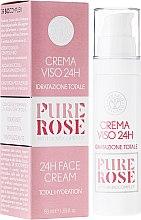 Düfte, Parfümerie und Kosmetik Feuchtigkeitsspendende Gesichtscreme - Erbario Toscano Pure Rose 24H Face Cream