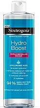 Düfte, Parfümerie und Kosmetik Reinigendes und feuchtigkeitsspendendes Mizellenwasser zum Abschminken mit Hyaluronsäure - Neutrogena Hydro Boost Triple Micellar Water