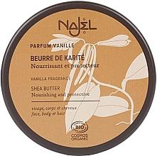 Düfte, Parfümerie und Kosmetik Bio Sheabutter für Körper und Haare mit Vanilleduft - Najel