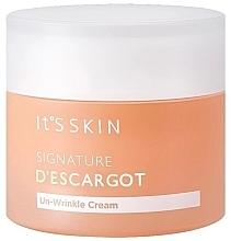 Düfte, Parfümerie und Kosmetik Anti-Falten Gesichtscreme mit Schneckenschleimfiltrat - It's Skin Signature D'escargot Un-Wrinkle Cream