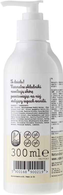 Nährende Hand- und Körperlotion für trockene Haut - Yope Vanilla & Cinnamon Hand And Body Lotion — Bild N2