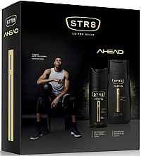 Düfte, Parfümerie und Kosmetik Str8 Ahead - Duftset (Deodorant/150ml + Duschgel/250ml)