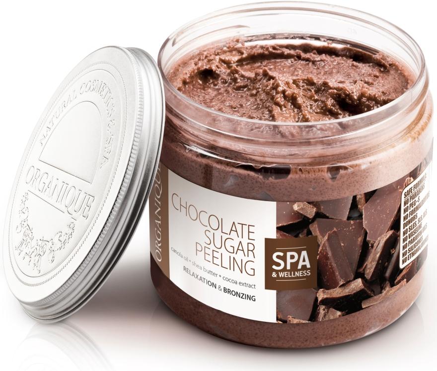 Entspannendes Schokolade-Zuckerpeeling für den Körper - Organique Professional Spa Therapie Chocolate Sugar Peeling — Bild N4