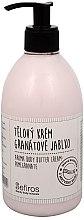 "Düfte, Parfümerie und Kosmetik Körpercreme ""Granatapfel"" - Sefiros Aroma Body Butter Cream Pomegranate"