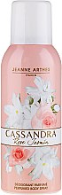 Düfte, Parfümerie und Kosmetik Jeanne Arthes Cassandra Rose Jasmin Perfumed Body Spray - Parfümiertes Deospray