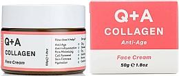 Düfte, Parfümerie und Kosmetik Anti-Aging Gesichtscreme mit Kollagen - Q+A Collagen Face Cream