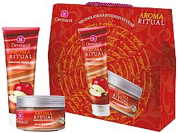 Düfte, Parfümerie und Kosmetik Körperpflegeset - Dermacol Aroma Ritual Apple with Cinnamon (Duschgel 250ml + Körperpeeling 200ml)