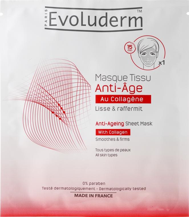 Anti-Aging Gesichtsmaske - Evoluderm Anti-Age Sheet Mask — Bild N1