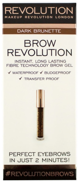 Augenbrauengel - Makeup Revolution Brow Revolution Brow Gel — Bild N1