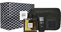 Düfte, Parfümerie und Kosmetik Guerlain L'Homme Ideal - Duftset (Eau de Toilette/100ml + Duschgel/75ml + Kosmetiktasche)